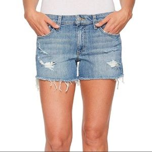 Joes Jeans Cut Off Light Blue Denim Shorts
